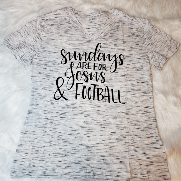 Sundays are for Jesus and Football Tanks Top Sleeveless Shirt Fit Mens Cotton